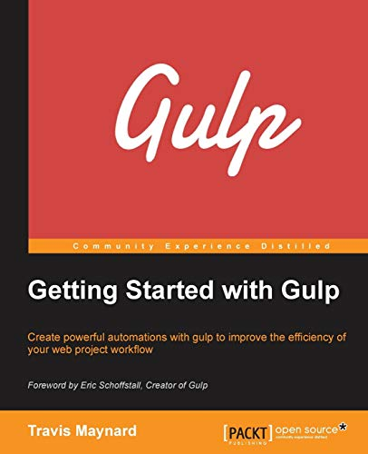 9781784395766: Getting Started with Gulp