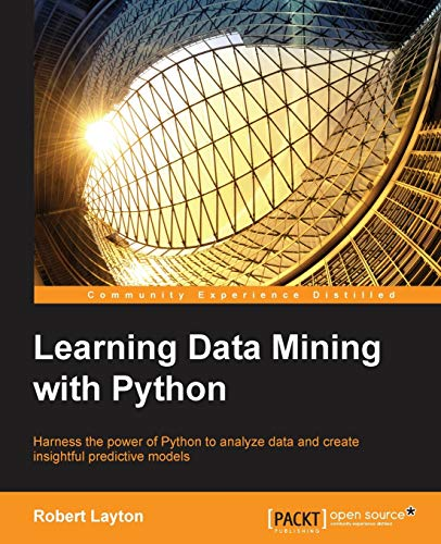 9781784396053: Learning Data Mining with Python