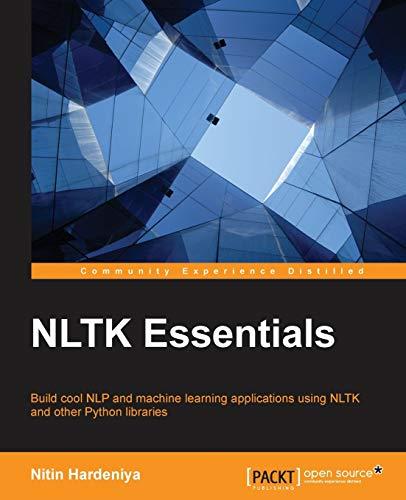 9781784396909: NLTK Essentials