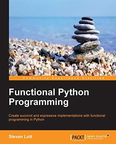 9781784396992: Functional Python Programming