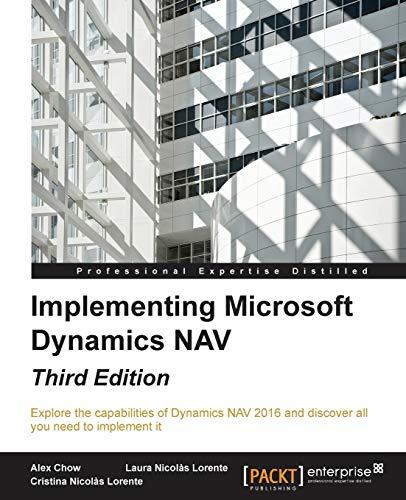 9781784397555: Implementing Microsoft Dynamics NAV - Third Edition