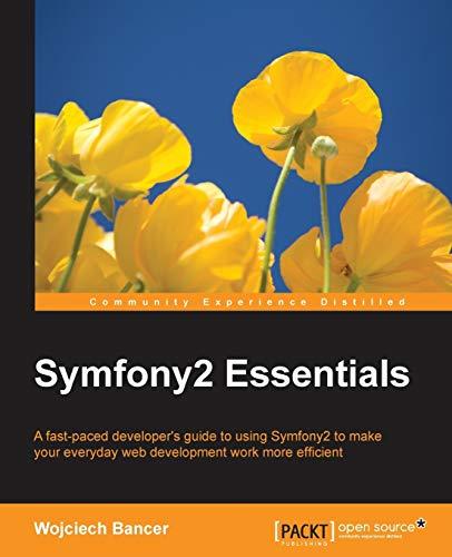 9781784398767: Symfony2 Essentials