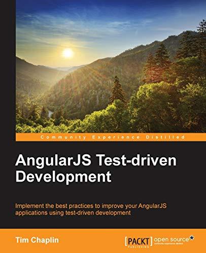 9781784398835: AngularJS Test-driven Development
