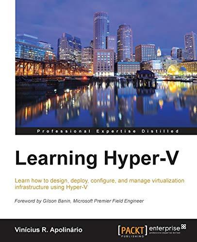9781784399863: Learning Hyper-V