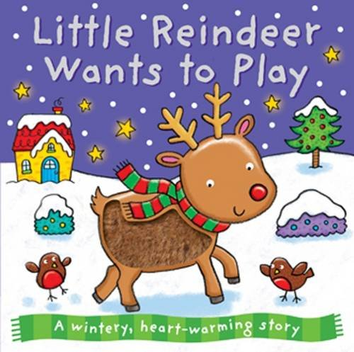 9781784400880: Little Reindeer Wants to Play (Xmas Board)