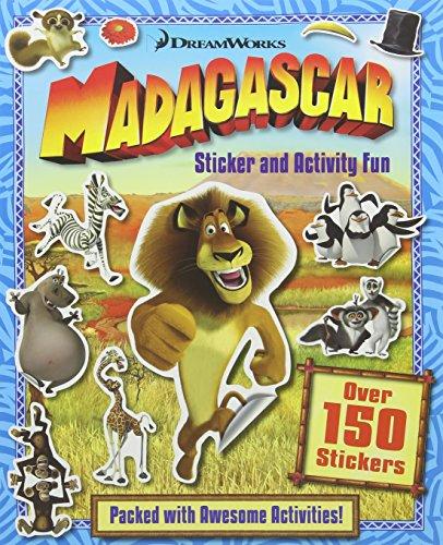 9781784403195: Madagascar Sticker & Activity