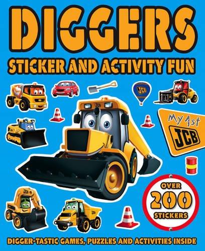 JCB Sticker Book: Digger Time: Igloobooks