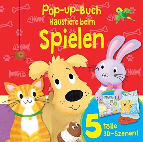 9781784406509: Pop-Up-Buch Haustiere: 5 tolle 3D-Szenen