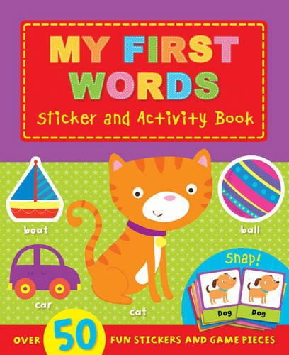 9781784407056: My First: Words (Sticker and Activity Book)