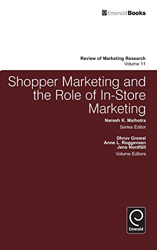 Review of Marketing Research. Volume 11: Dhruv Grewal (editor),