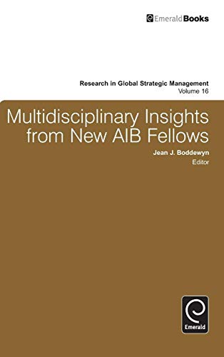 9781784410391: Multidisciplinary Insights from New AIB Fellows (Research in Global Strategic Management)