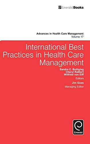9781784412791: International Best Practices in Health Care Management (Advances in Health Care Management)