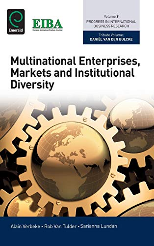 9781784414221: Multinational Enterprises, Markets and Institutional Diversity (Progress in International Business Research)