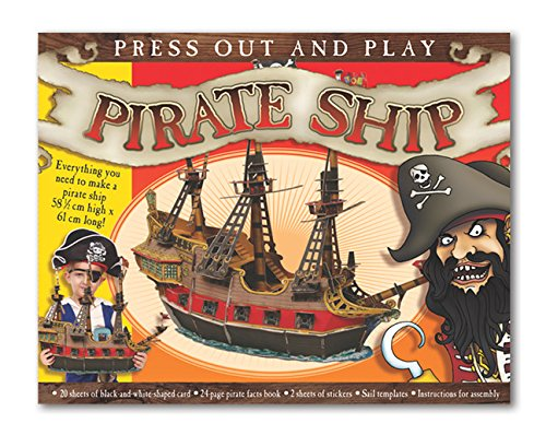 9781784452759: Press Out & Build Pirate Ship (Press Out and Build Model)