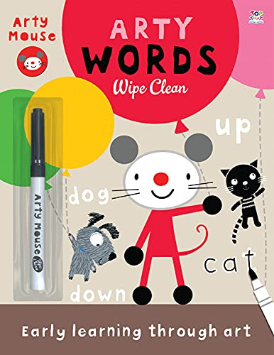 Arty Words Wipe Clean (Arty Mouse): Stanley, Mandy