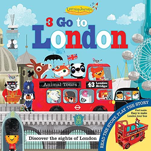 9781784453121: Three Go to London