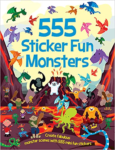9781784453404: 555 Sticker Fun Monsters