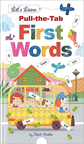 9781784453428: First Words (Steph Hinton Pull the Tab)