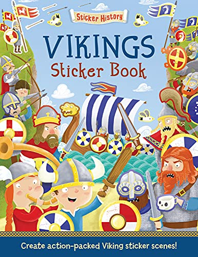 9781784453442: Vikings Sticker Book (Sticker History)