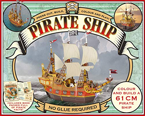 9781784454760: Press Out and Build Pirate Ship