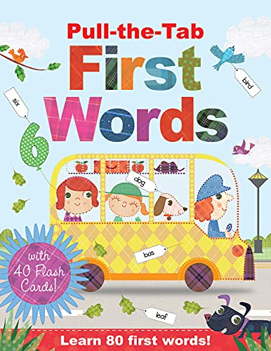 9781784456771: Pull-the-Tab First Words with Flash Cards (Learning Stations)