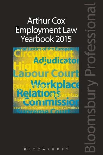 Arthur Cox Employment Law Yearbook 2015: Arthur Cox Employment Law Group