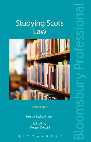 9781784513399: Studying Scots Law