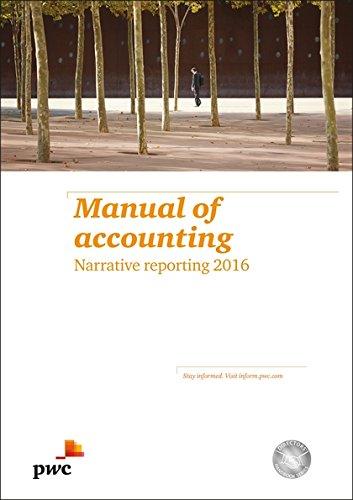9781784515300: Manual of Accounting Narrative Reporting 2016