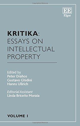 9781784712051: Kritika: Essays on Intellectual Property: Volume 1