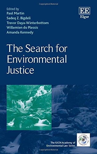 9781784719418: The Search for Environmental Justice (The IUCN Academy of Environmental Law series)