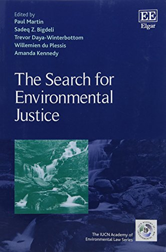 9781784719869: The Search for Environmental Justice (IUCN Academy of Environmental Law series) (The Iucn Academy of Environmental Law)