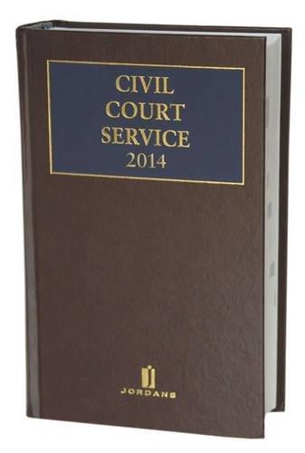 9781784730482: Civil Court Service 2014 Reissue 2014