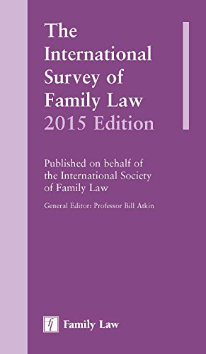 9781784730666: The International Survey of Family Law 2015 Edition