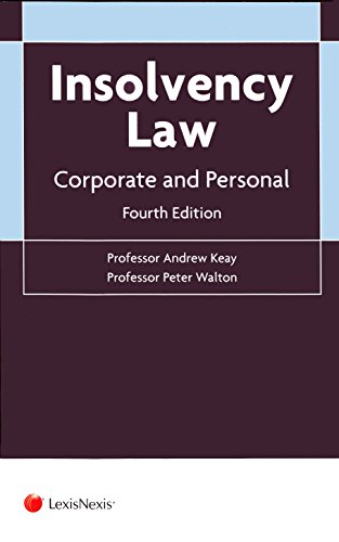 9781784733094: Insolvency Law: Corporate and Personal