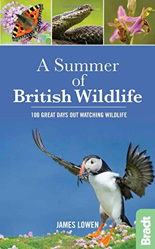 A Summer of British Wildlife: 100 great: James Lowen