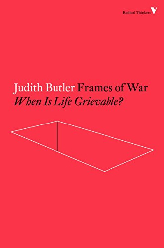 9781784782474: Frames of War (Radical Thinkers)