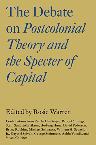 9781784786960: The Debate on Postcolonial Theory and the Specter of Capital