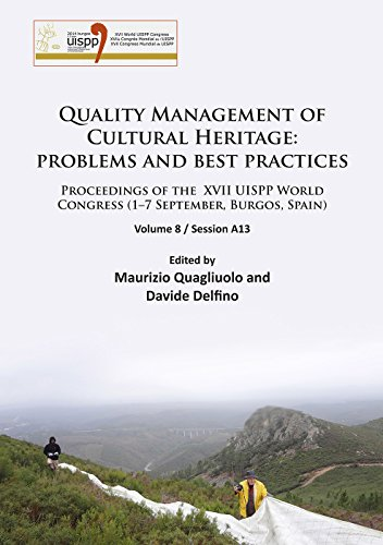 Quality Management of Cultural Heritage: Problems and Best Practices (Proceedings of the XVII UISPP...
