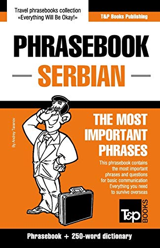 English-Serbian phrasebook and 250-word mini dictionary: Taranov, Andrey