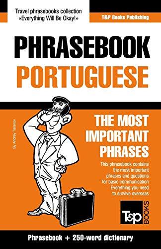 English-Portuguese phrasebook and 250-word mini dictionary: Taranov, Andrey