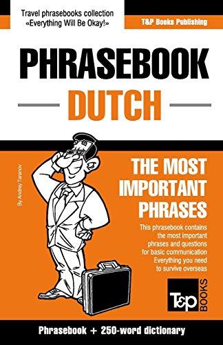English-Dutch phrasebook and 250-word mini dictionary: Andrey Taranov