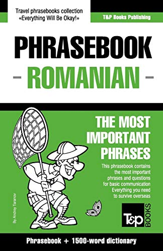 9781784924379: English-Romanian Phrasebook and 1500-Word Dictionary
