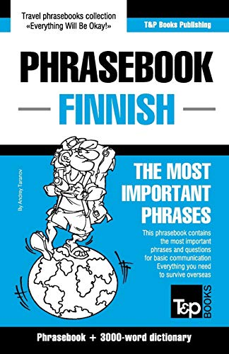 9781784924539: English-Finnish Phrasebook and 3000-Word Topical Vocabulary