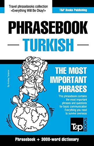 9781784924584: English-Turkish phrasebook and 3000-word vocabulary