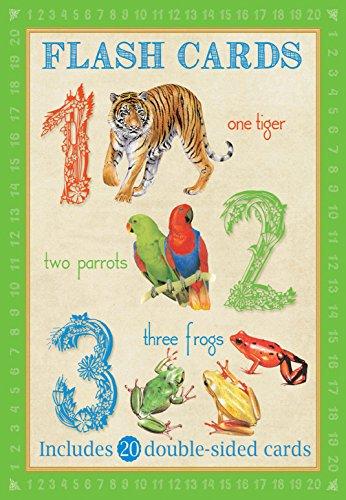 Animal Flashcards: 123 (Paperback): Camilla de le Bedoyere