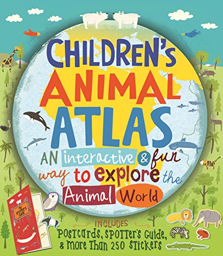 Children s Animal Atlas (Hardback): Barbara Taylor