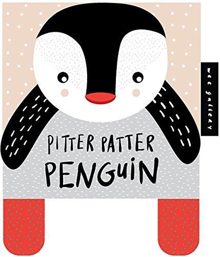 9781784937102: Pitter Patter Penguin: Baby's First Soft Book (Wee Gallery)