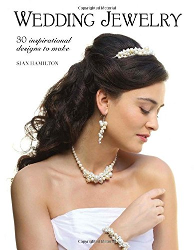 Wedding Jewelry 9781784943301 Make your wedding your own with personalized jewelry! This exciting new title from Sian Hamilton, the editor of Making Jewellery magazine, is the ideal book for jewelry makers eager to learn the intricacies of creating wedding jewelry. Packed with 30 designs, Wedding Jewelry is broken down into six different collections with five different pieces in each collection. The collections are themed as follows: Vintage, Nature, Classic, Lace, Floral and Celtic. Although the book assumes some jewelry making knowledge, the techniques cover most of the basics that the reader will need to know. In addition to a techniques section, tools and materials are discussed in detail. Sian provides tips to help the bride incorporate colors to match wedding themes, outfits, and more. Projects include: headpieces, tiara, hairpins, brooches, necklaces, bracelets and earrings.