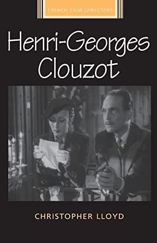 9781784992866: Henri-Georges Clouzot (French Film Directors MUP)