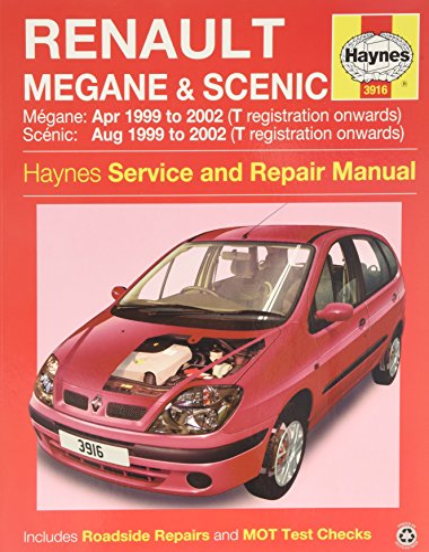 9781785210051: Renault Megane & Scenic Service and Repair Manual